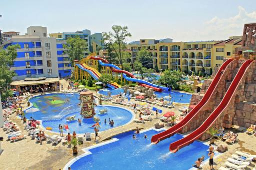 Hotel Kuban Resort Aqua Park Sb Sunny Beach Bourgas Area Bulgaria