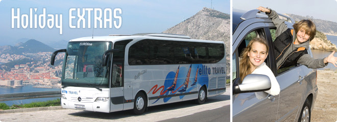 Holiday Extras - Airport Parking, Airport Hotels, Transfers for Bulgaria, Croatia, Montenegro, Slovenia
