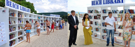 Albena Opens First Beach Library In The European Union