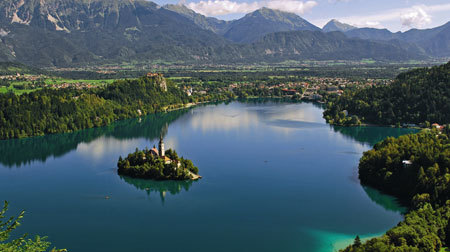 "Lake Bled Shines Among ""Alpine Pearls"""