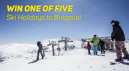 WIN A FREE HOLIDAY FOR TWO TO BANSKO, BULGARIA