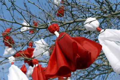 Balkan holidays baba marta in bulgarian is known as grandma march day and is a holiday celebrated in bulgaria on the 1st day of march m4hsunfo
